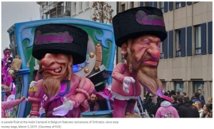 Belgian Parade Outwardly Shows Anti-Semitism
